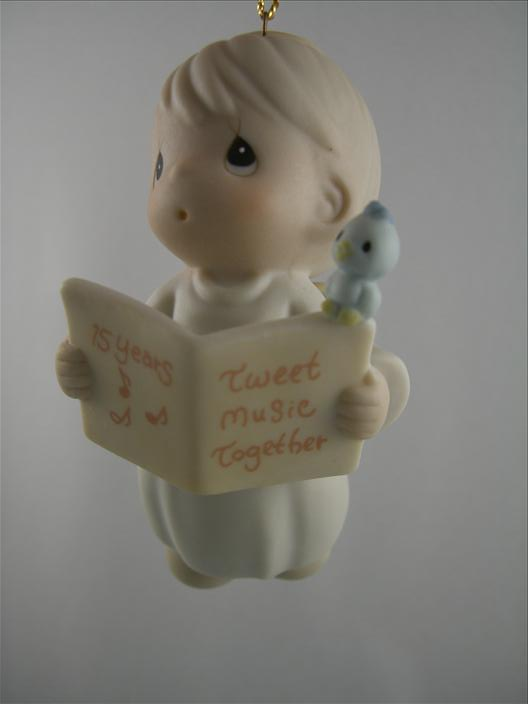 15 Years Tweet Music Together Ornament