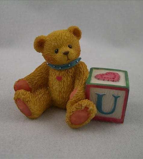 "Bear With ABC ""U"" Block"