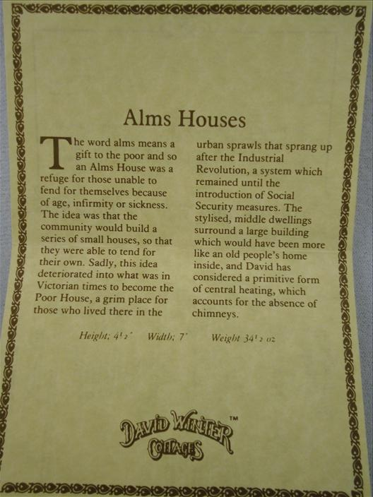 Alms Houses (Imperfect)