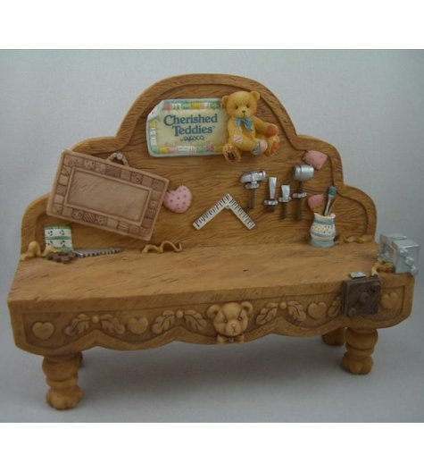 Antique Toy Tool Bench Display