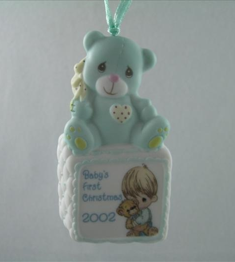 Baby Boy First Christmas 2002 Ornament