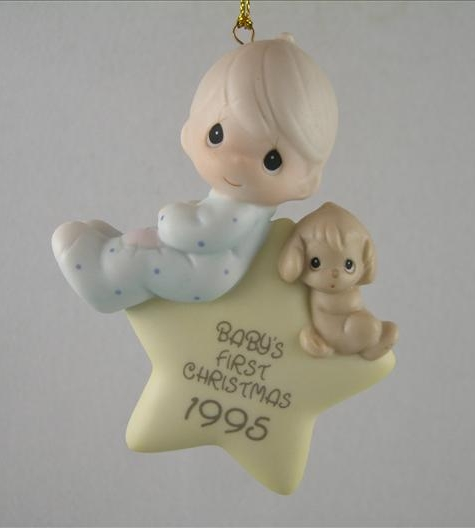 Baby's First Christmas 1995 Ornament (Boy)