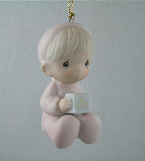 Baby's First Christmas Ornament (Boy)