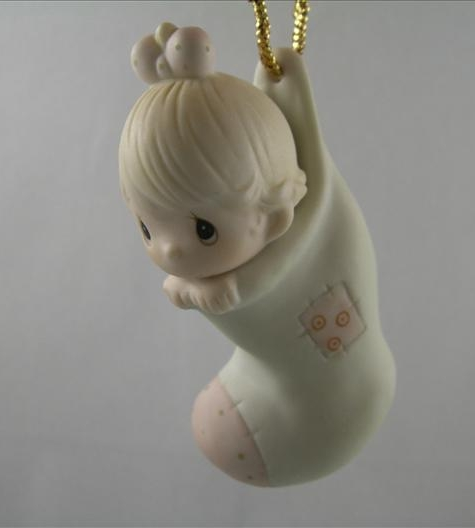 Baby's First Christmas Ornament (Girl)
