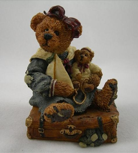 Bailey Bear With Suitcase