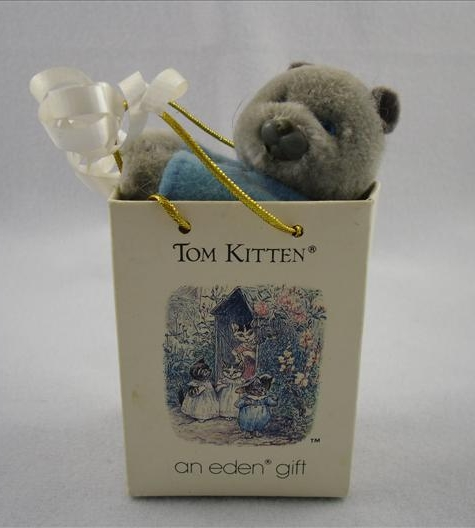 Tom Kitten Plush Clip-On