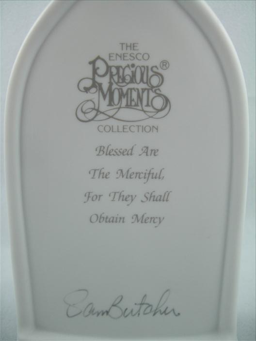 Blessed Are The Merciful Beatitude Plaque
