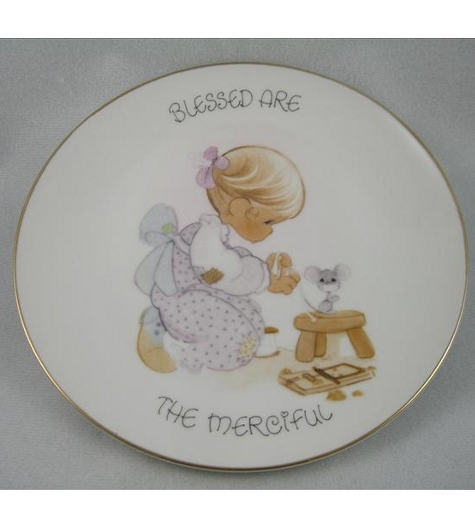 Blessed Are The Merciful Plate