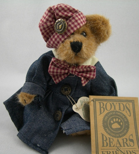 Eleanor Plush Bear