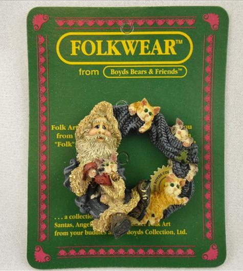 Fuzznick With Claws & Co Folkwear Pin