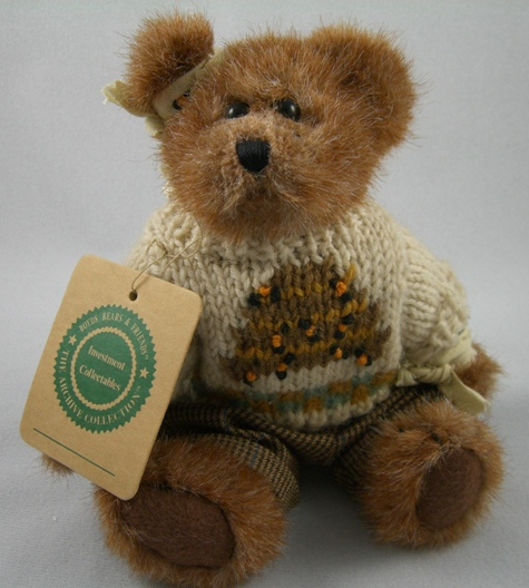 Edmund T. Bear Plush