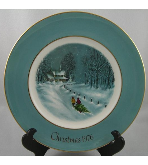 Bringing Home The Tree Plate