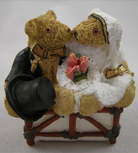 The Happy Couple (Bride And Groom Bear)