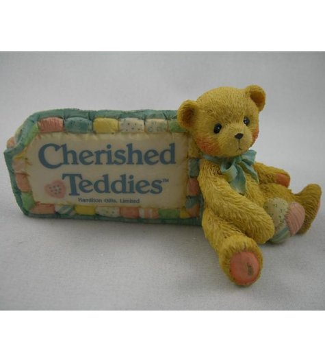 Cherished Teddies Dealer Plaque