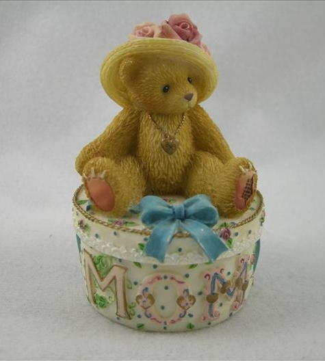 Mom Bear Covered Box