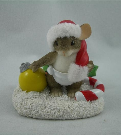 Baby's First Christmas 2001 Mouse