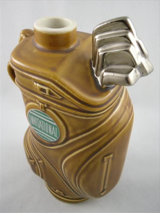 Clem Harvey Spirits Golf Bag Decanter