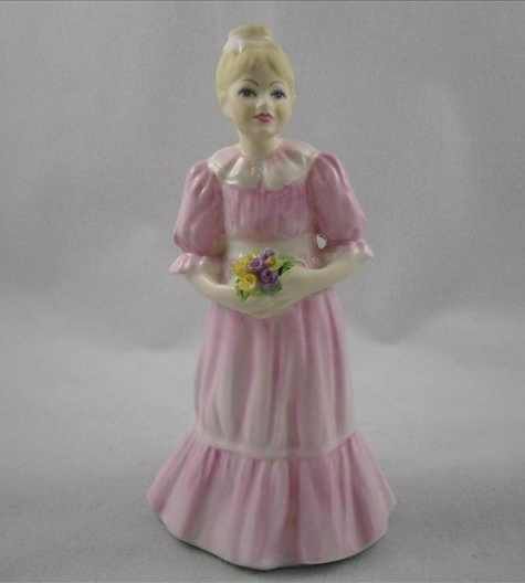 Coalport Flower Girl