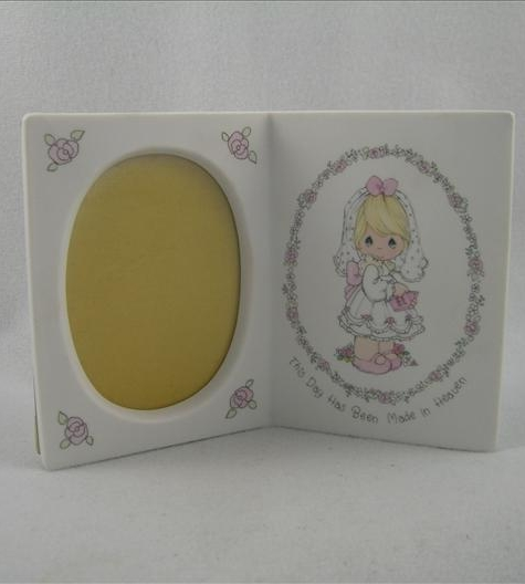 Communion Girl Book Photo Frame