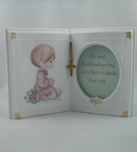 Confirmation Boy Book Photo Frame
