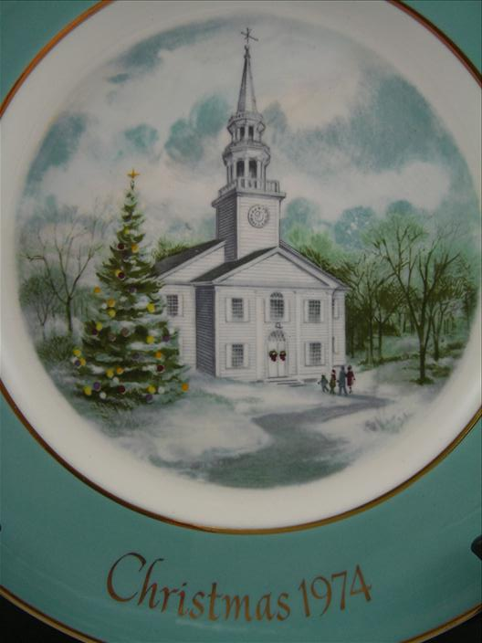 Country Church Plate