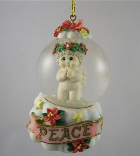 Peace Waterglobe Ornament
