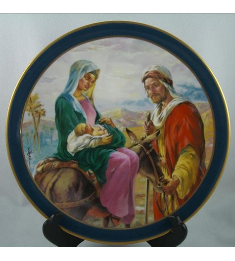 Flight Into Egypt Plate