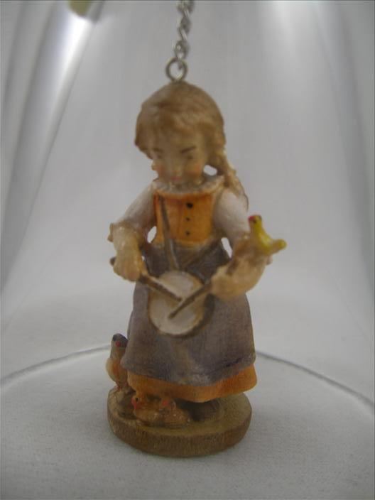 Crystal Bell: Girl With Small Drum