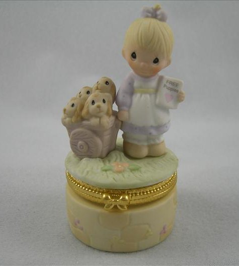 God Loveth A Cheerful Giver Trinket Box