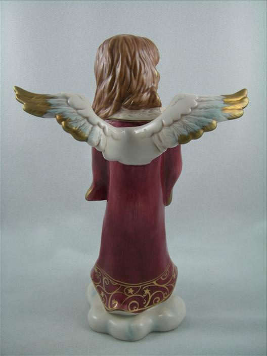Angel Holding Candle, Bordeaux