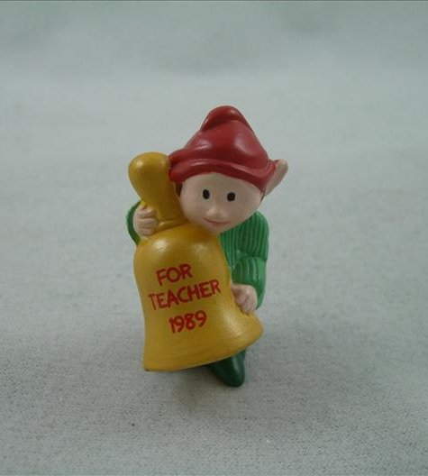 Merry Miniature Teacher Elf 1989