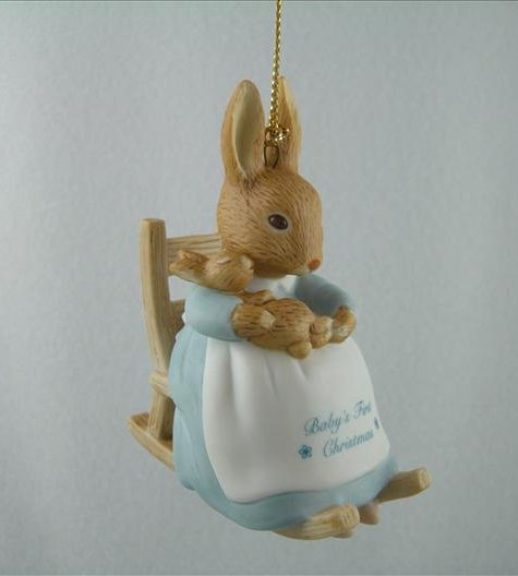 Beatrix Potter Baby's First Christmas 1996