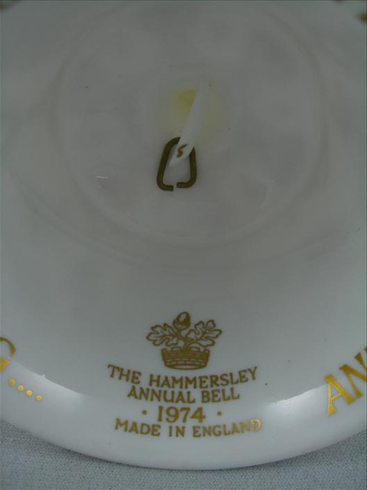 Hammersley 1974 Annual Bell