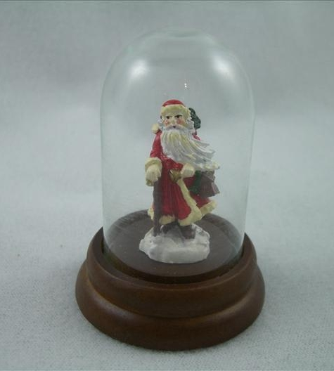 Santa With Cane Miniature