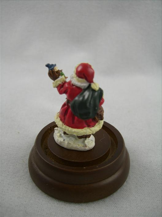Santa With Jig Doll Miniature