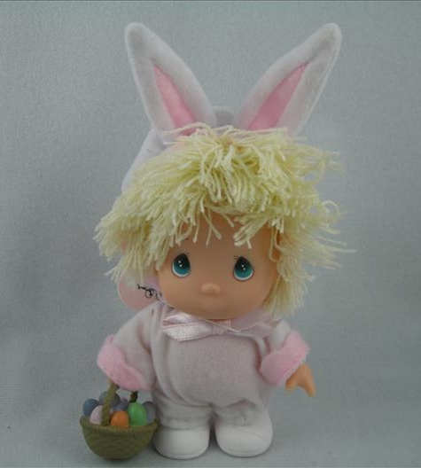 Hi Babies Girl In Bunny Outfit Doll (Blonde)