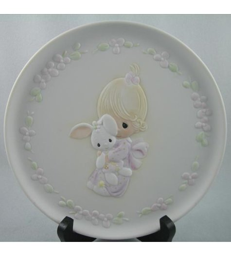 Jesus Loves Me (Girl) Plate
