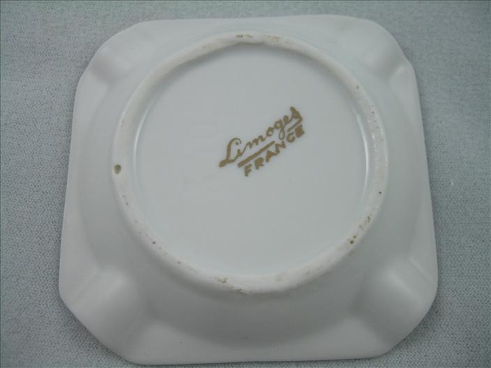 Limoges Souvenir Ashtray Nice