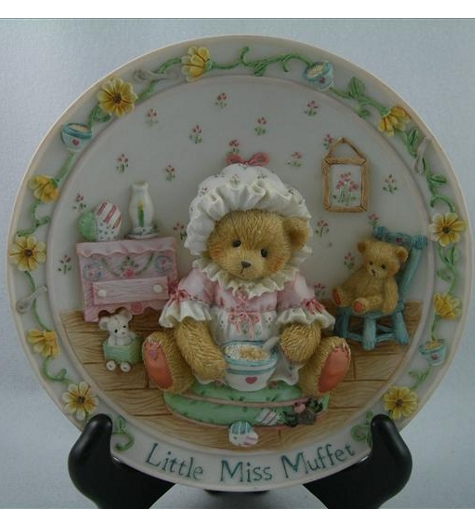 Little Miss Muffet Plate