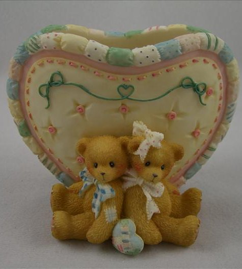 Love Bears all Things Vase