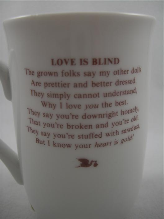 Love Is Blind Mug