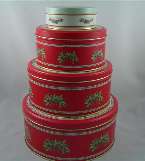 Maud Humphrey Nested Metal Tins