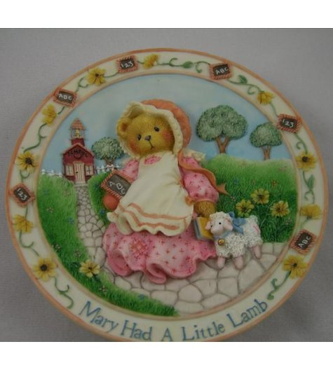 Mary Had A Little Lamb Plate
