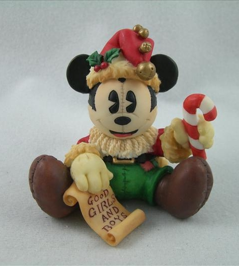 Mickey As Rag Doll Santa