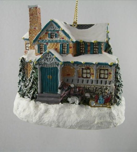 Moonlit Sleigh Ride Ornament