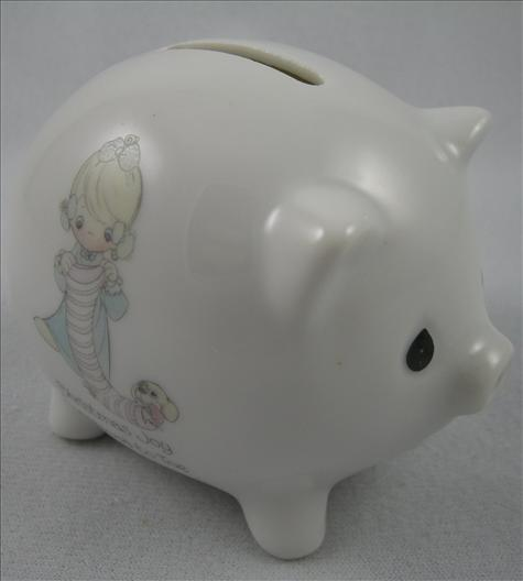 Christmas Joy From Head To Toe Piggy Bank