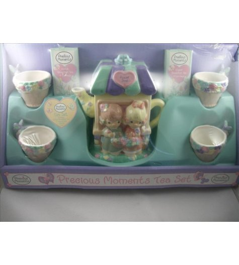 Flower Shop Teapot Set