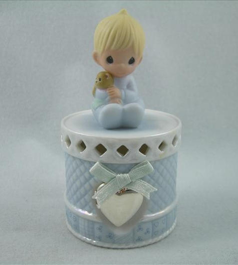 Patched With Love Figural Box