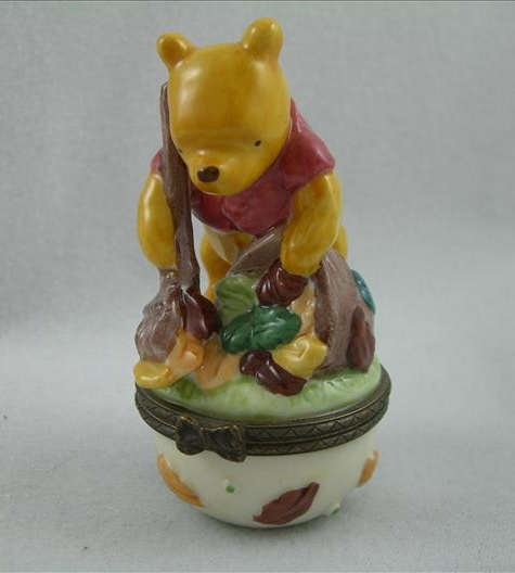 Pooh October Hinged Box