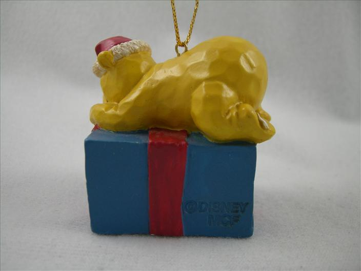 Pooh With Gift For Piglet Ornament